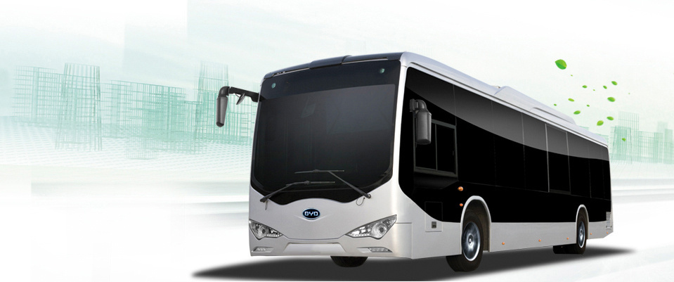 The BYD eBus as displayed on the company's website. BYD won a contract with L.A.'s Metro Transit Authority for at least five all-electric buses, Metro announced Thursday.