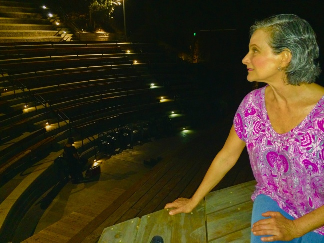 """Melora Marshall believes her late family members and other spirits from Theatricum Botanicum history grace the stage at night. """"This place has always been filled with such love,"""" she says."""