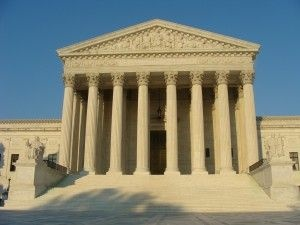The U.S. Supreme Court building in Washington, D.C., July 2008