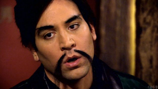 """How I Met Your Mother"" actor Josh Radnor dons a Fu Manchu mustache in a recent episode described by the showrunners as an homage to kung fu movies."