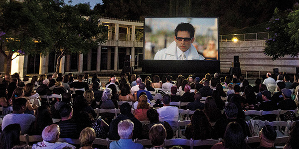 Outdoor Movies at the Skirball by Timothy Norris; Zoolander (2001), directed by Ben Stiller