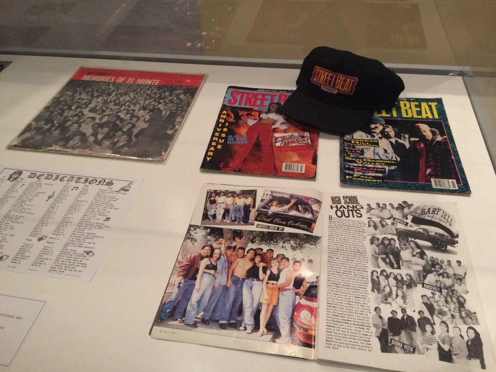 Copies of Street Beat magazine, from Guadalupe Rosales' archive.