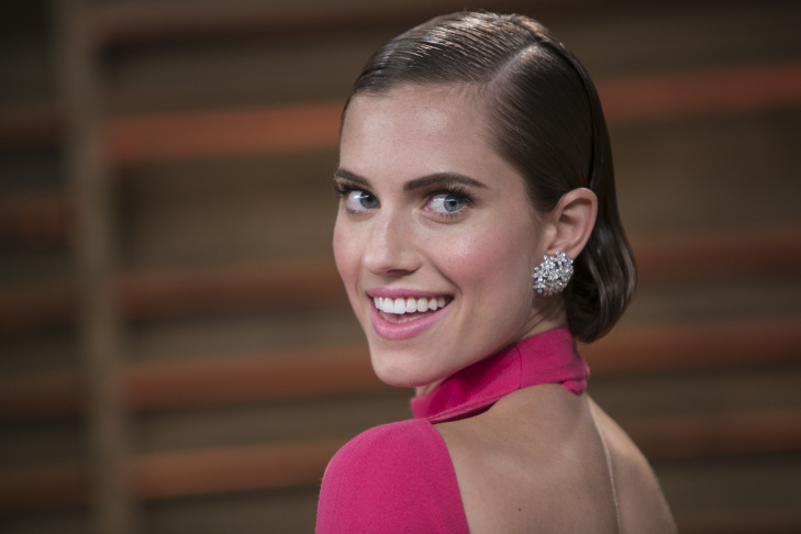 Allison Williams at the 2014 Vanity Fair Oscar Party in West Hollywood. NBC announced Wednesday that Williams will play the boy who refused to grow up in NBC's new staging of