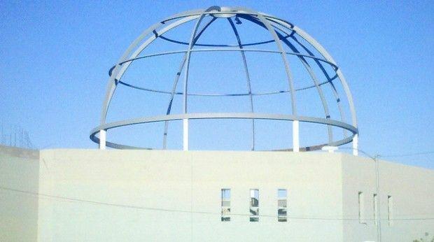 FILE: The dome under construction at the La Luz Del Mundo church in Phoenix, October 2010.