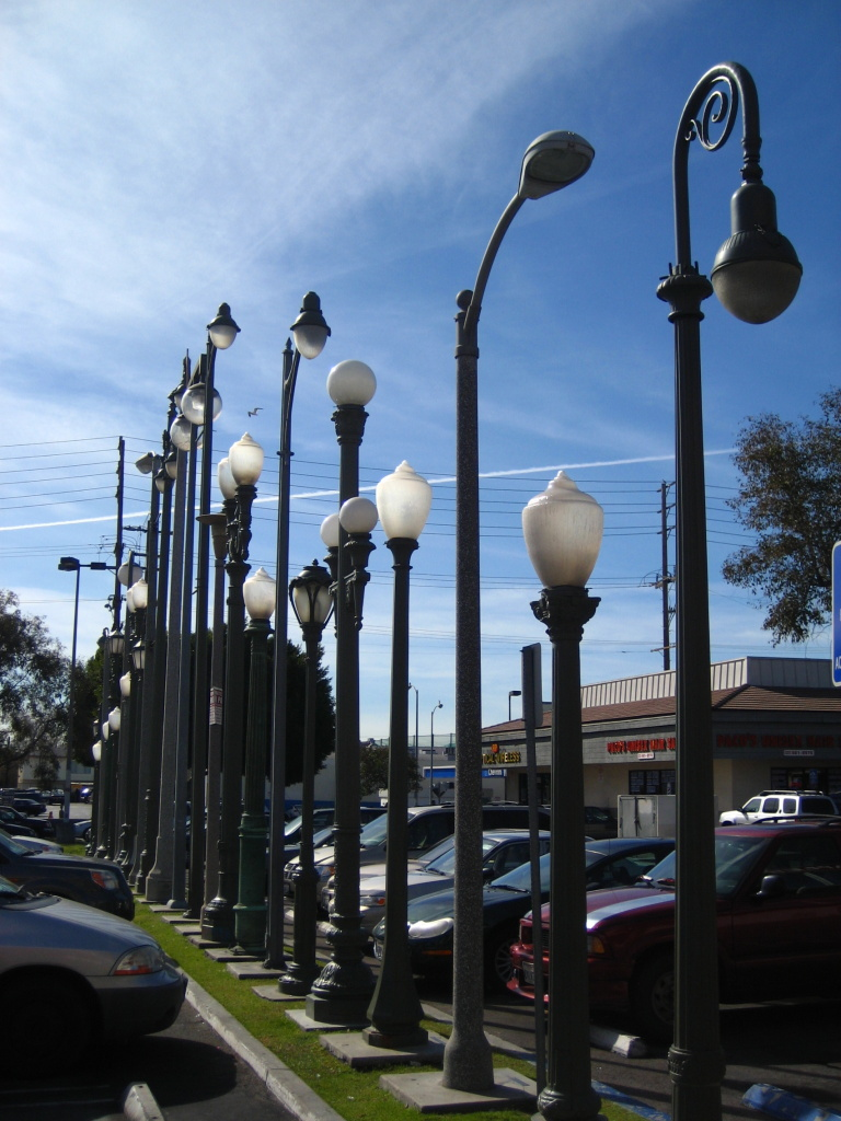 The Vermonica light installation sometime in 2008.