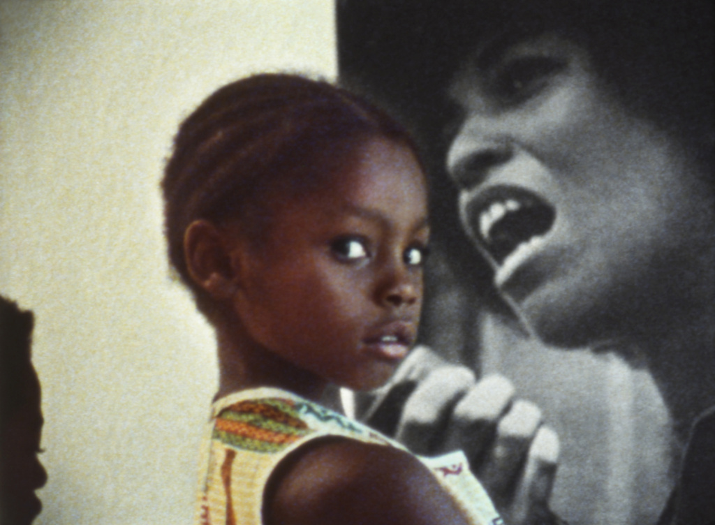 A scene from the film ASHES AND EMBERS (1982), directed by UCLA alumnus Haile Gerima.