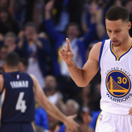 Guard Steph Curry of the Golden State Warriors has led the team to the top of the NBA for the past two seasons, but his team now faces elimination on the cusp of the finals.