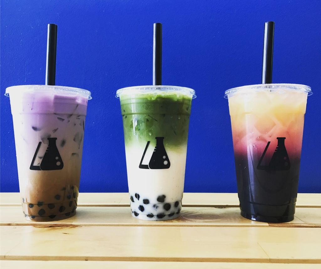Purple yams, cookies, and matcha are just some of the newer ingredients in boba milk tea now.