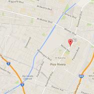 Pico Rivera Standoff site