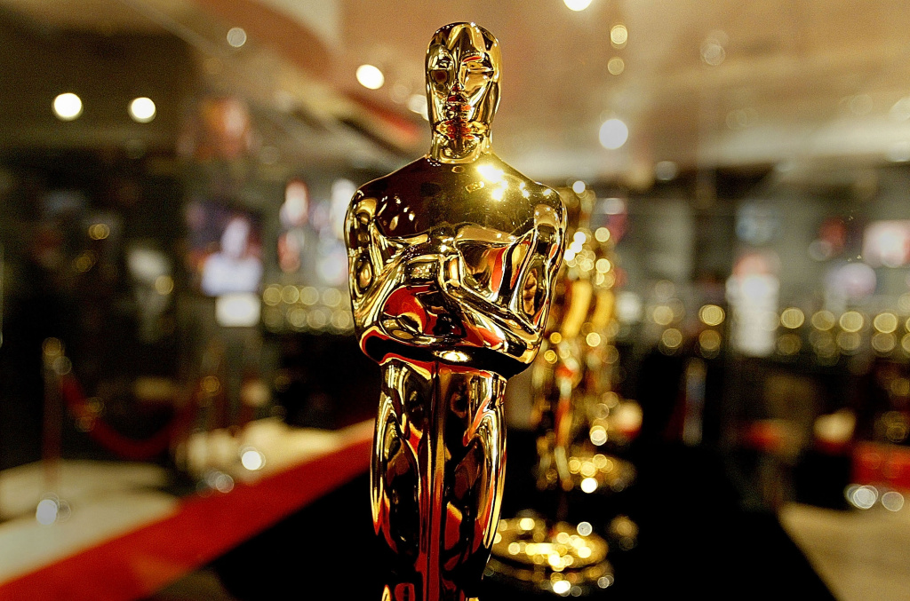 A display case full of Oscar statues is seen on February 20, 2004 in Hollywood, California. These statues that will be handed out on February 29 at the 76th Academy Awards.