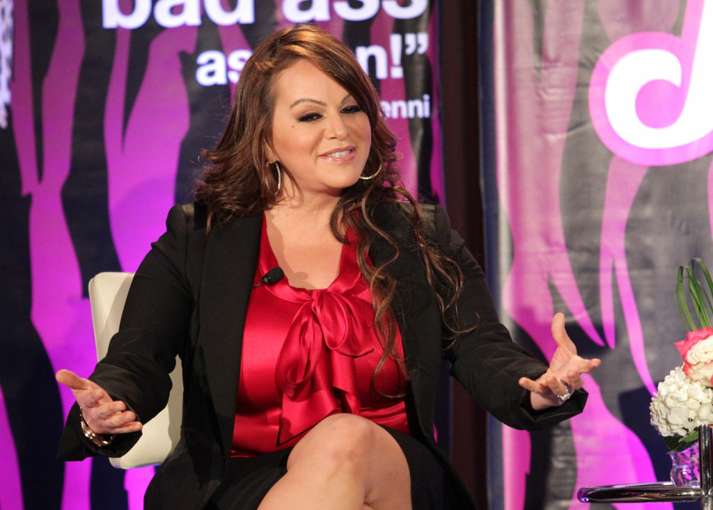 Singer Jenni Rivera. speaks during the
