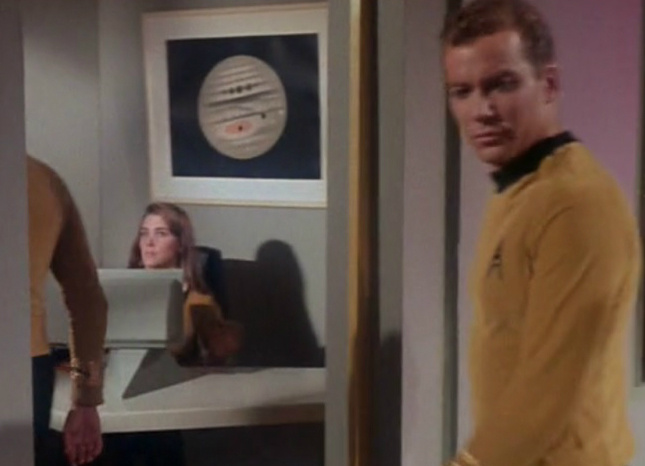 An inverted Trouvelot in the Star Trek episode,