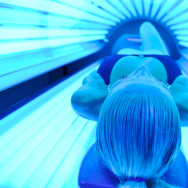 Almost one-third of white high school girls say they seek out indoor tans.