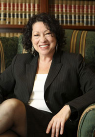 Judge Sonia Sotomayor in 2009.