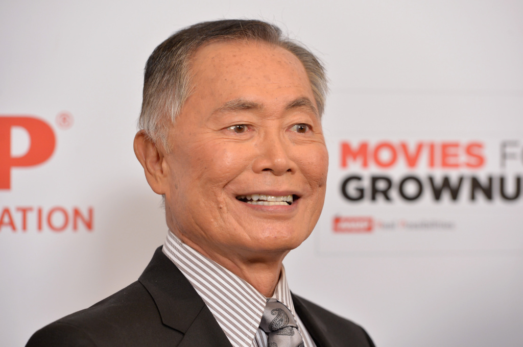Actor George Takei arrives to AARP The Magazine's 14th Annual Movies For Grownups Awards Gala at the Beverly Wilshire Four Seasons Hotel in this file photo taken February 2, 2015 in Beverly Hills, California. The