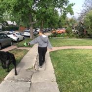 Emily Moore broken sidewalks
