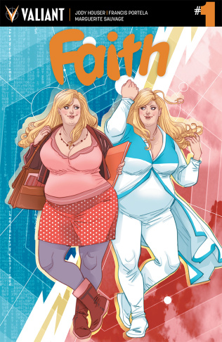 The Faith mini-series follows the story of Faith Herbert, alias Zephyr.  She relocates to LA and for the first time, she's fighting crime on her own.