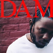 Cover art for Kendrick Lamar's new album, Damn.