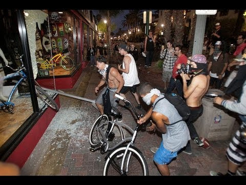Huntington Beach Riots