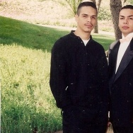 Crime Victim David Guizar with his brother Gilbert
