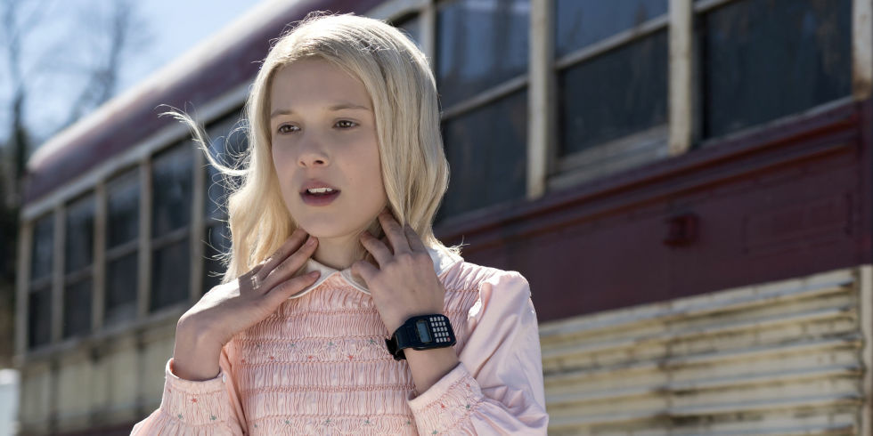 Millie Bobby Brown stars as Eleven in the Netflix series,