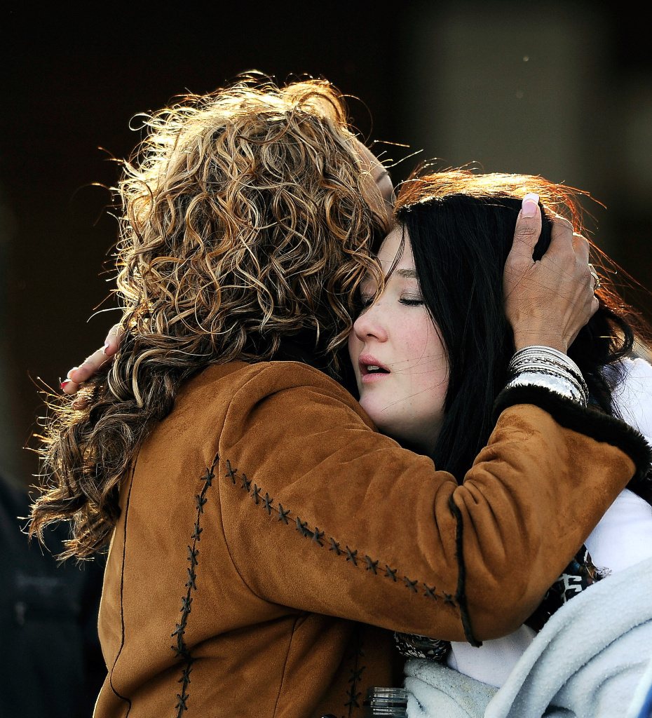Colorado School Shooting Victim Died Trying To Stop The: As Centennial, Colorado Picks Up The Pieces, Sandy Hook