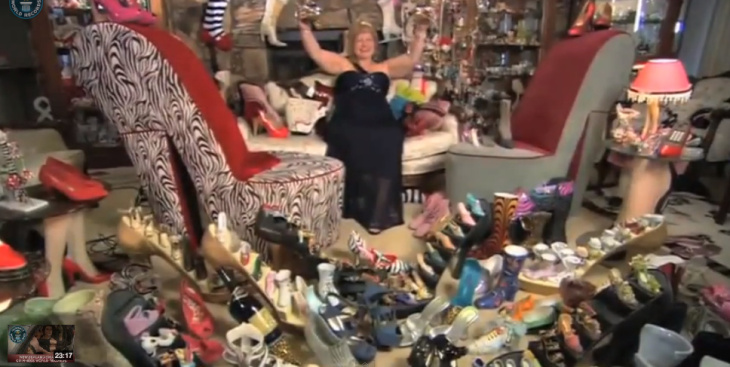 darlene shoe collector