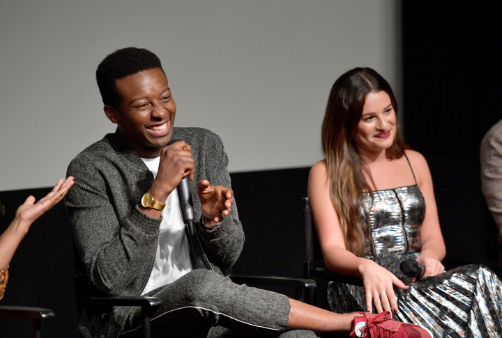Brandon Micheal Hall's background as a musician and activist made him the perfect fit for a rapping politician in ABC's