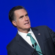 US Repulican presidential candidate Mitt