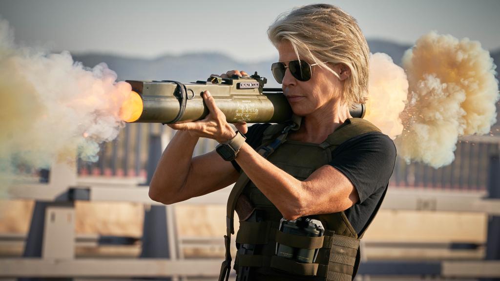 Linda Hamilton stars in
