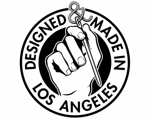 The new Made In L.A. clothing logo, unveiled Oct. 15, 2012.
