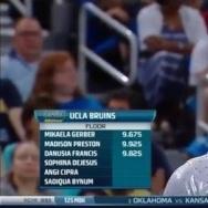 Sophina DeJesus (UCLA) 2016 Floor vs Utah 9.925
