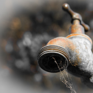 dry tap water faucet drought