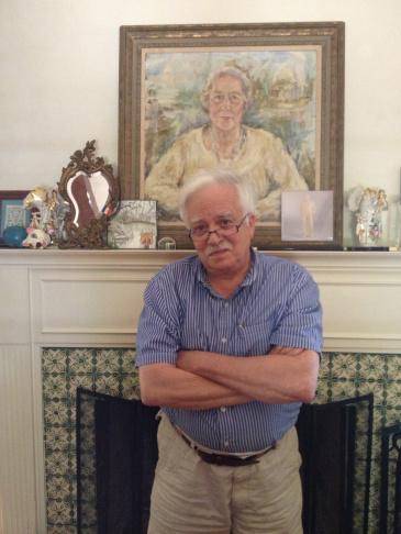 Musician Van Dyke Parks at home.