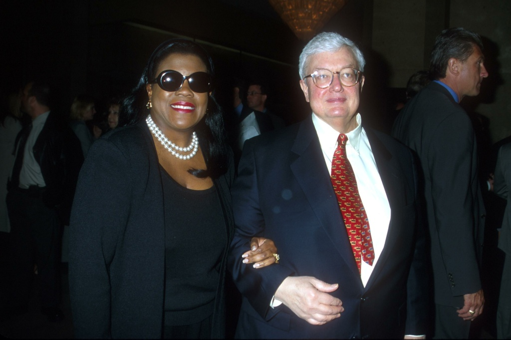 Beverly Hills, CA. Roger Ebert with his wife attending the 37th Ann. Publicists Guild Awds. Photo by Brenda Chase Online USA Inc.
