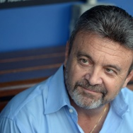 Former Dodgers General Manager Ned Colletti and author of the new book, The Big Chair: The Smooth Hops and Bad Bounces from the Inside World of the Acclaimed Los Angeles Dodgers General Manager