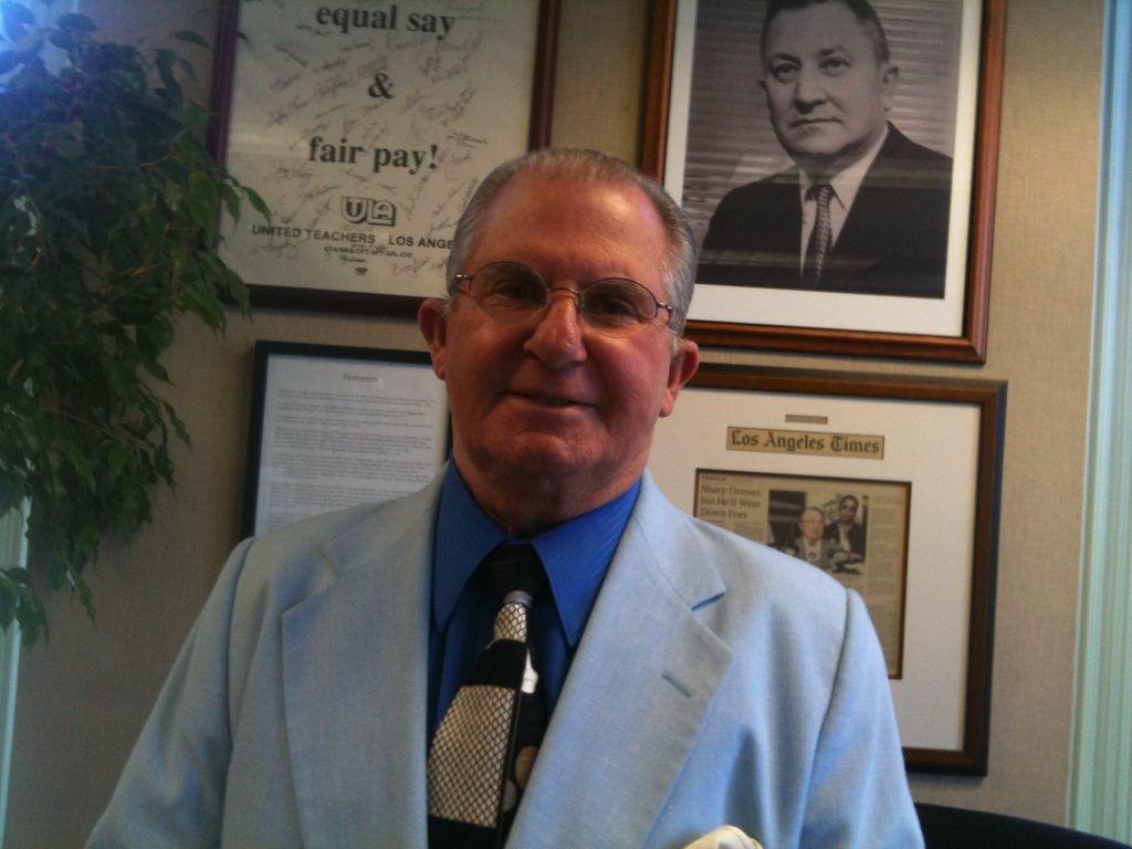 Outgoing UTLA President A.J. Duffy