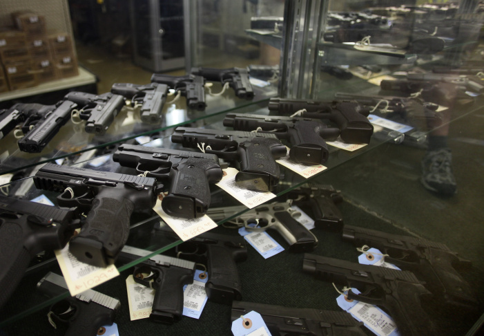 Gun sales are up in California