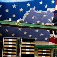 Rose Parade Float Prep - 1