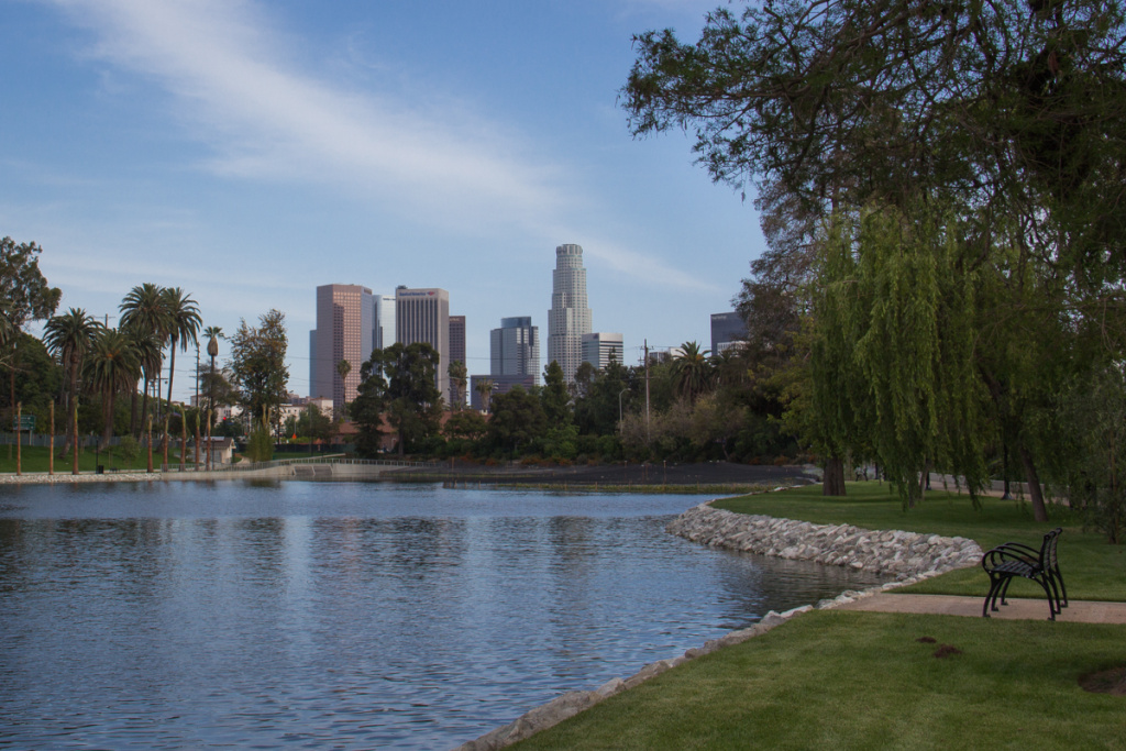 After a two-year and $45-million rehabilitation, Echo Park Lake will reopen on June 15, 2013.