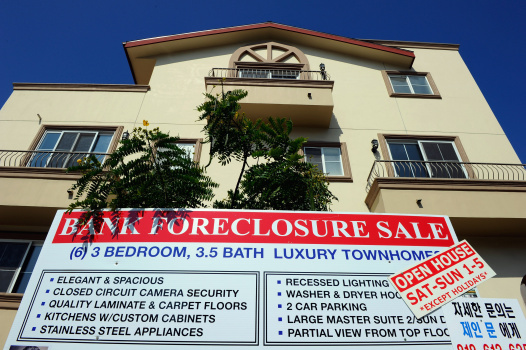 U.S. Foreclosure Rates Rise As Bank Repossessions Soar