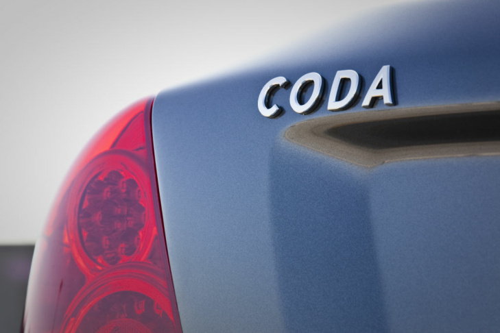 The CODA electric car looks...just like any other compact. And that's a selling point.