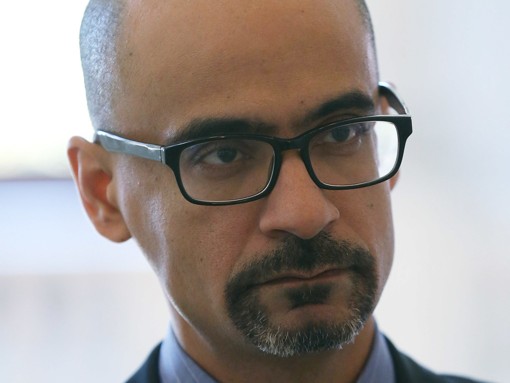 Writer Junot Diaz, pictured in 2015,was cleared by MIT of sexual misconduct allegations and will return to teach there in the fall.