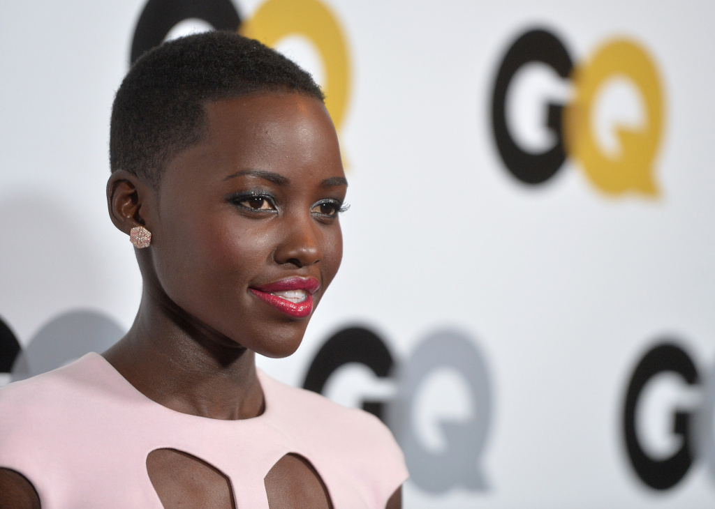 Actress Lupita Nyong'o attends the GQ Men Of The Year Party at The Ebell Club of Los Angeles on November 12, 2013 in Los Angeles, California.