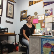 El Rancho High School counselor Delia Madera in her office.