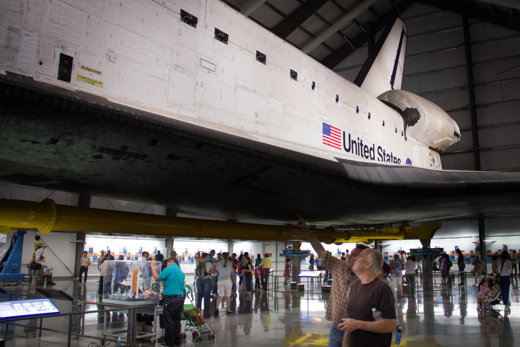 The California Science Center is home to the space shuttle Endeavour exhibit. The exhibit celebrates Endeavour's scientific achievements and its connection to California, where all the orbiters were built.