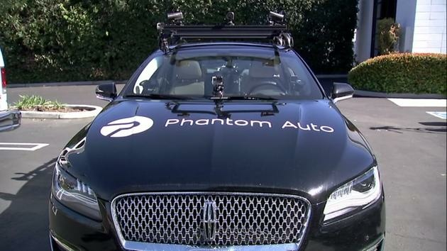 Phantom Auto uses a cellular network communication to take remote control of self-driving cars when they encounter construction or other obstacles the cars' systems can't interpret.