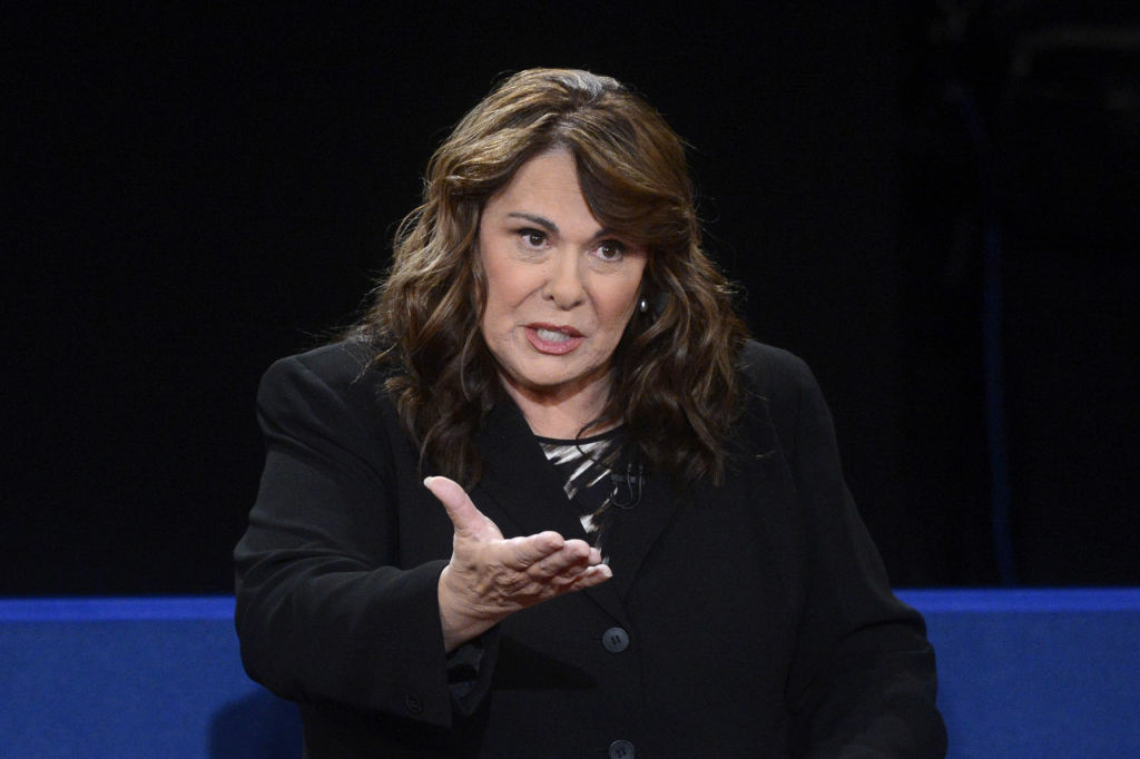 Moderator Candy Crowley speaks during a town hall style debate at Hofstra University October 16, 2012 in Hempstead, New York. During the second of three presidential debates, the candidates fielded questions from audience members on a wide variety of issues.