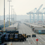 Strike At Ports Of Los Angeles And Long Beach Continue Into 8th Day