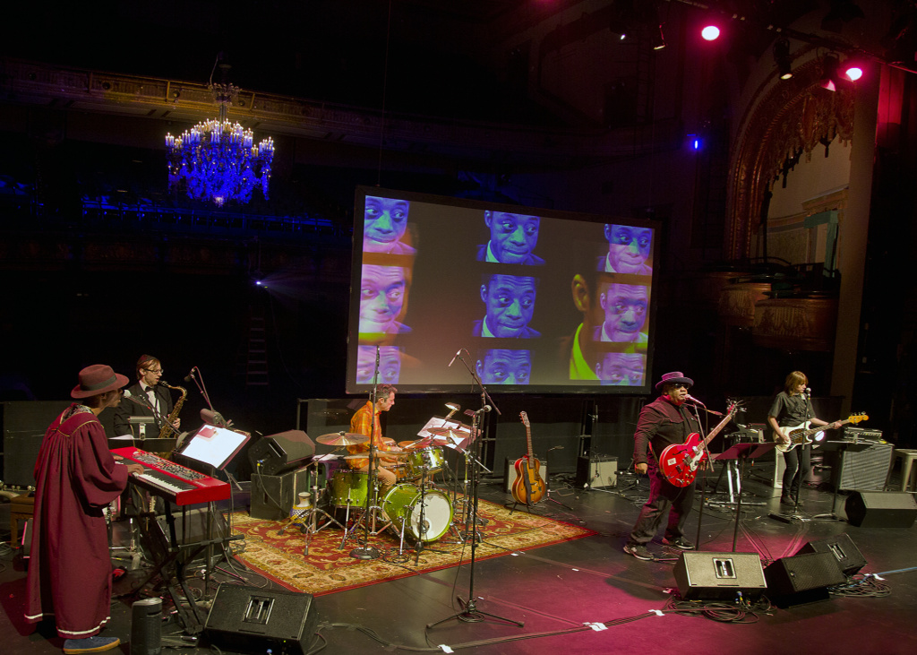 Stew and Heidi Rodewald performing